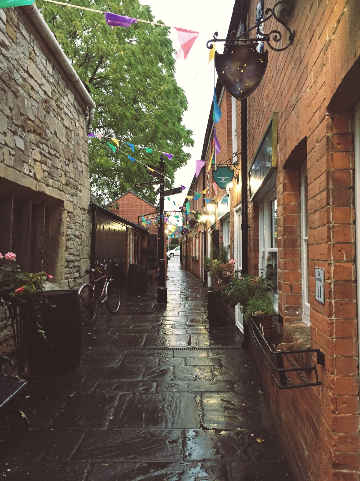 Glastonbury alley