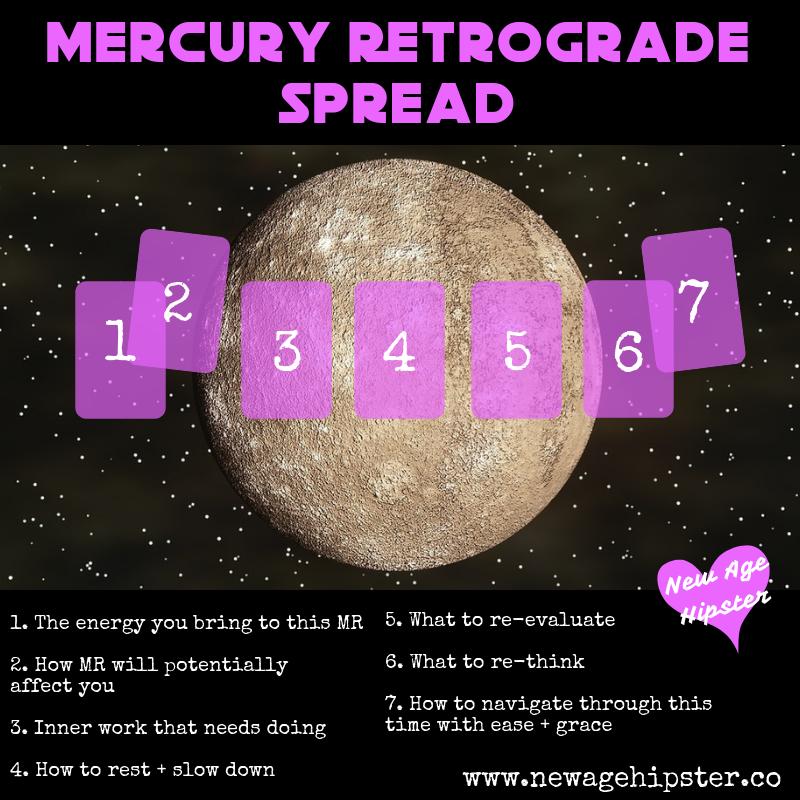 New Mercury Retrograde Tarot Spread — New Age Hipster