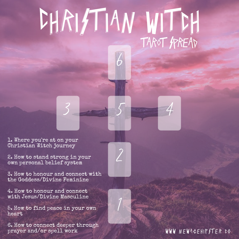 Christian Witch Tarot Spread