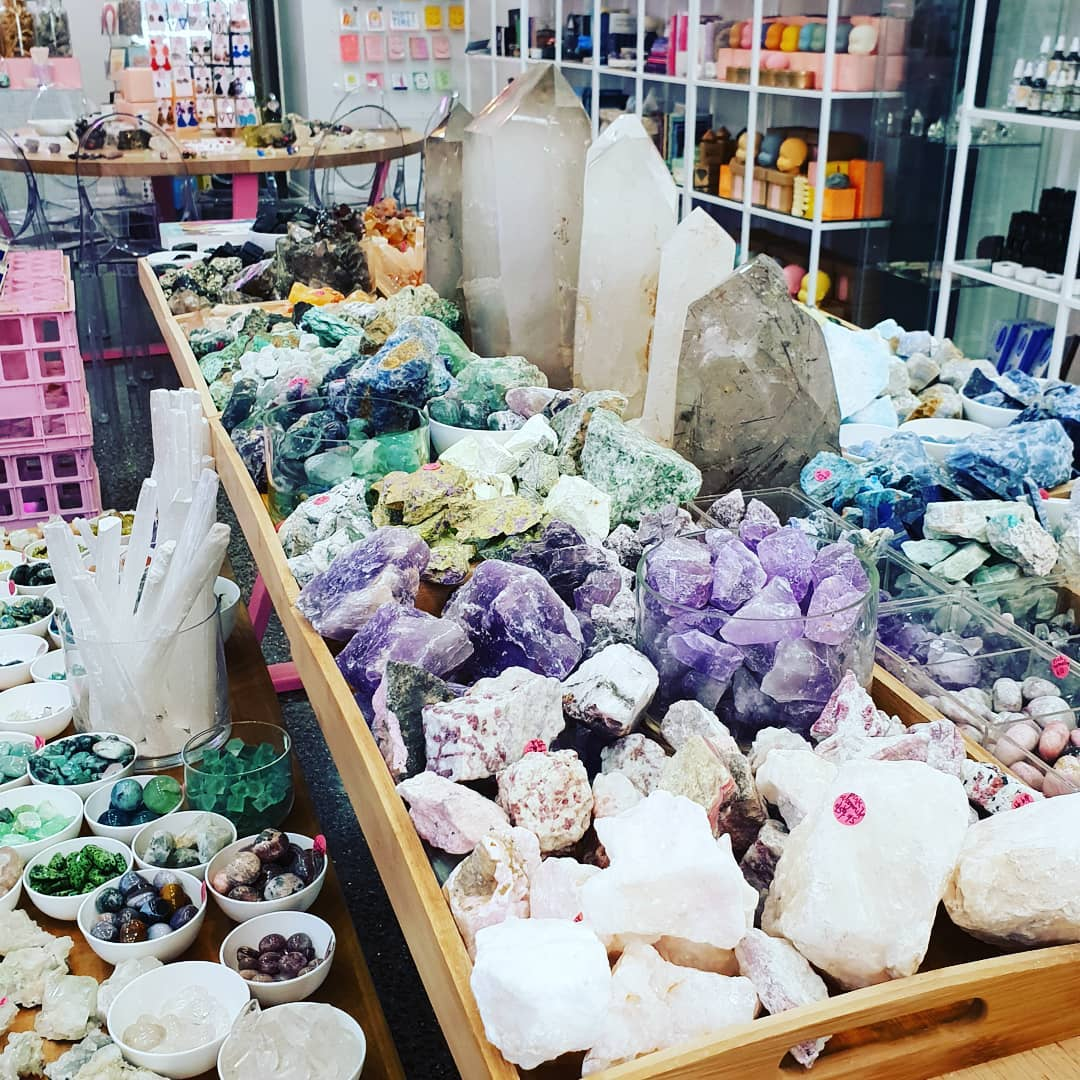 Our Satellite Hearts   - my favourite crystal shop in THE WORLD! :D x