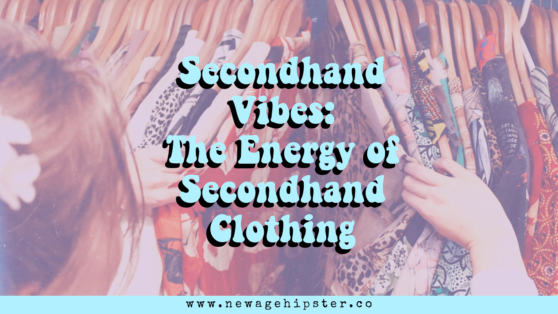 The Energy of Secondhand clothing