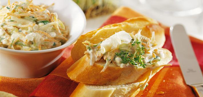Gemüse Aufstrich Mayonnaise Qiminaise