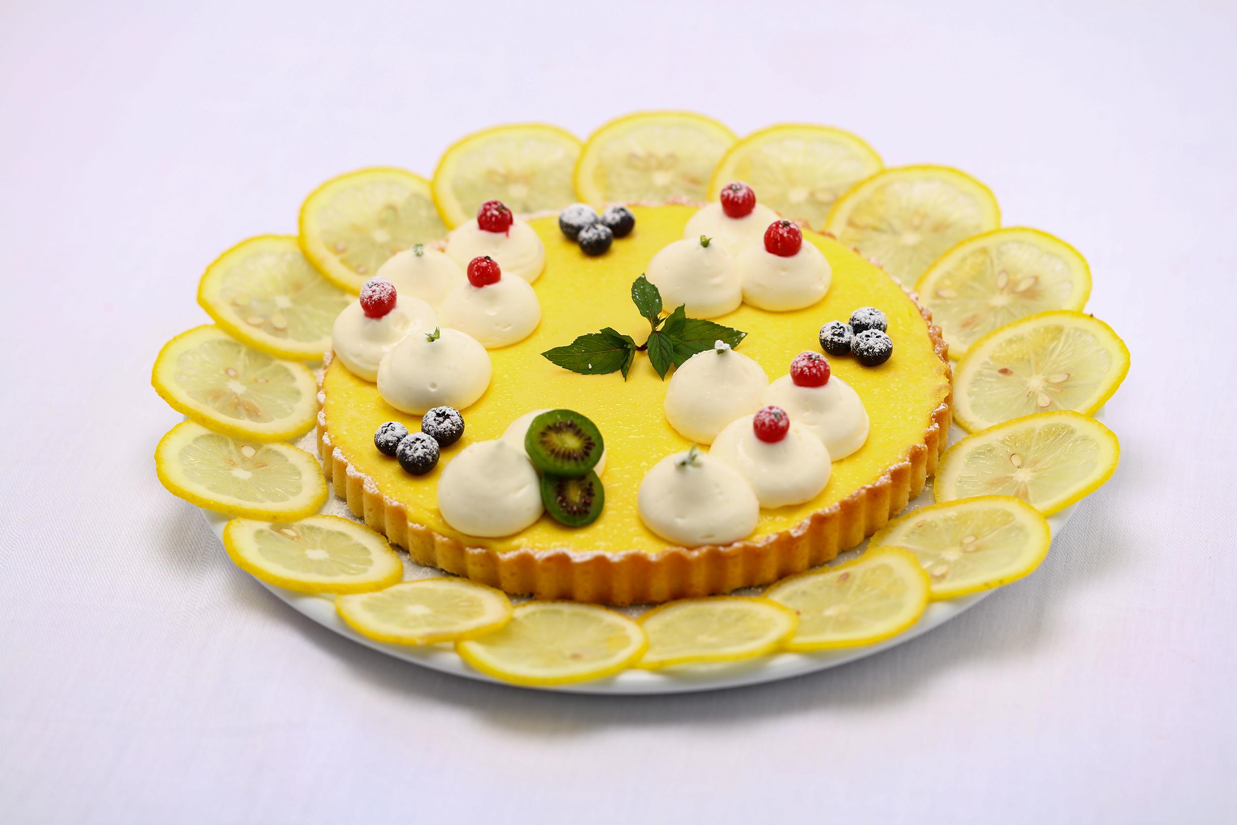 Zitronen-Mascarpone Tarte