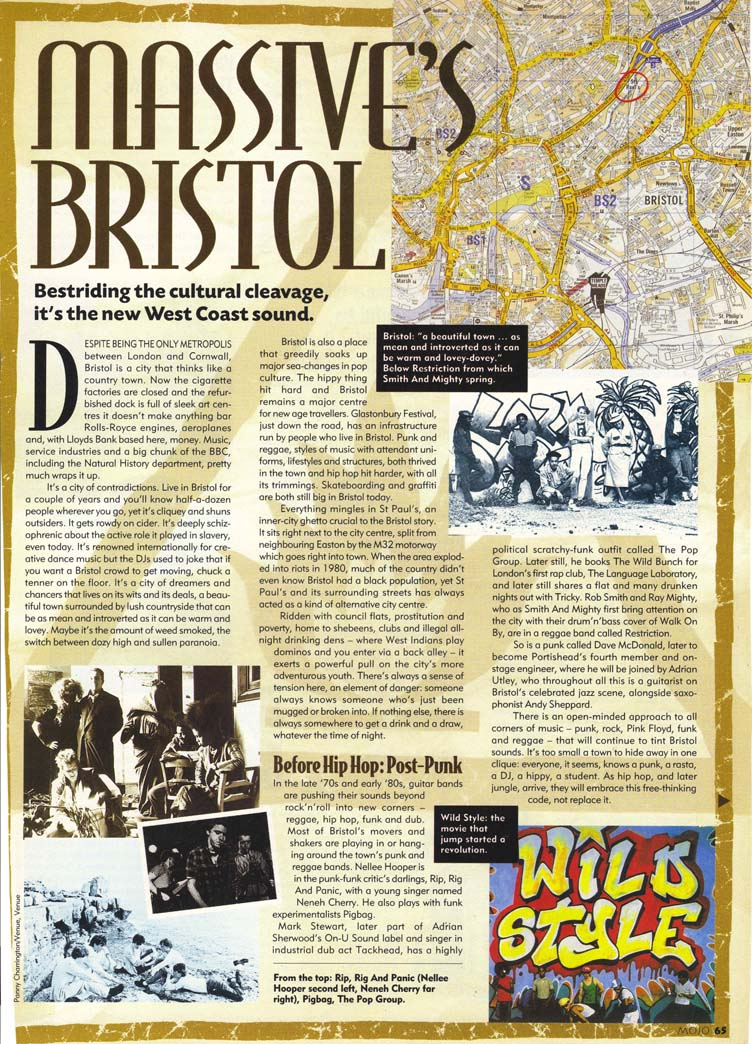 Mojo Feature On Bristol Music