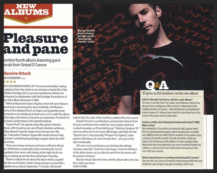 Uncut Magazine Review/Interview #1