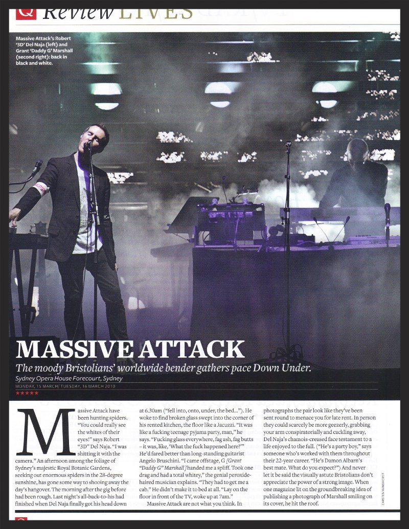 Q Magazine Interview #3