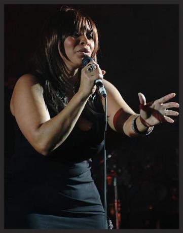 Deborah Miller, live vocalist on Unfinished Sympathy.