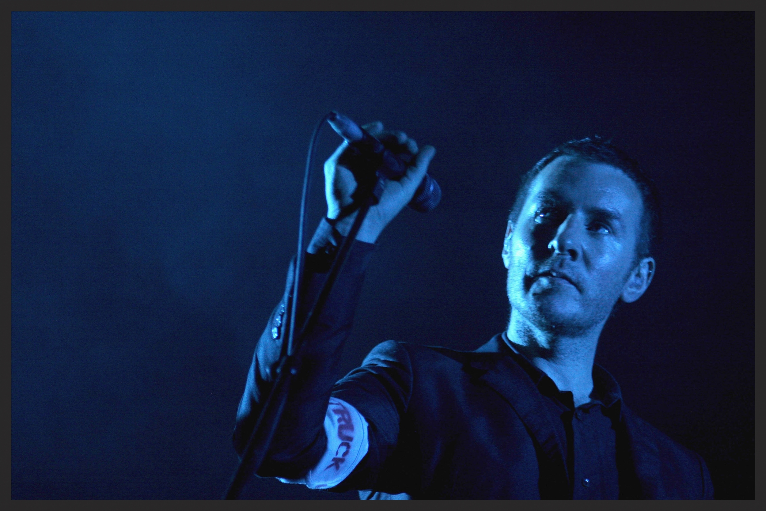 Massive Attack performing Risingson live on the 2008 tour.