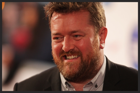 Guy Garvey, the lead singer of Manchester band  Elbow , had previously featured on the Heligoland track,  Flat Of The Blade .