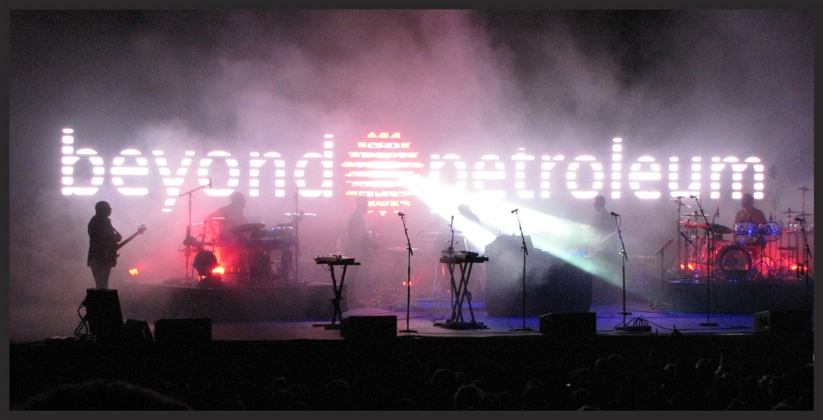 Atlas Air when played live on the Heligoland tour (2009-2010), the LED screen behind Massive Attack contrasted such information as the flightpaths of rendition flights, with corporate logos and religious symbols.