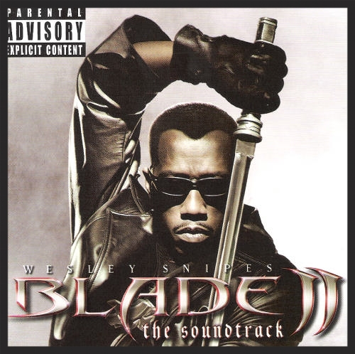 The soundtrack album for Blade 2 which I Agaisnt I featured on. 3D was a fan of the director Guillermo Del Toro's previous work.