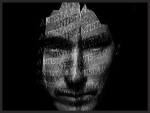 """One of the promo images for 100th Window featuring 3D with the word """"Antistar"""" emblazoned across his face. The photo was taken by Nick Thornton Jones & Warren du Preez."""