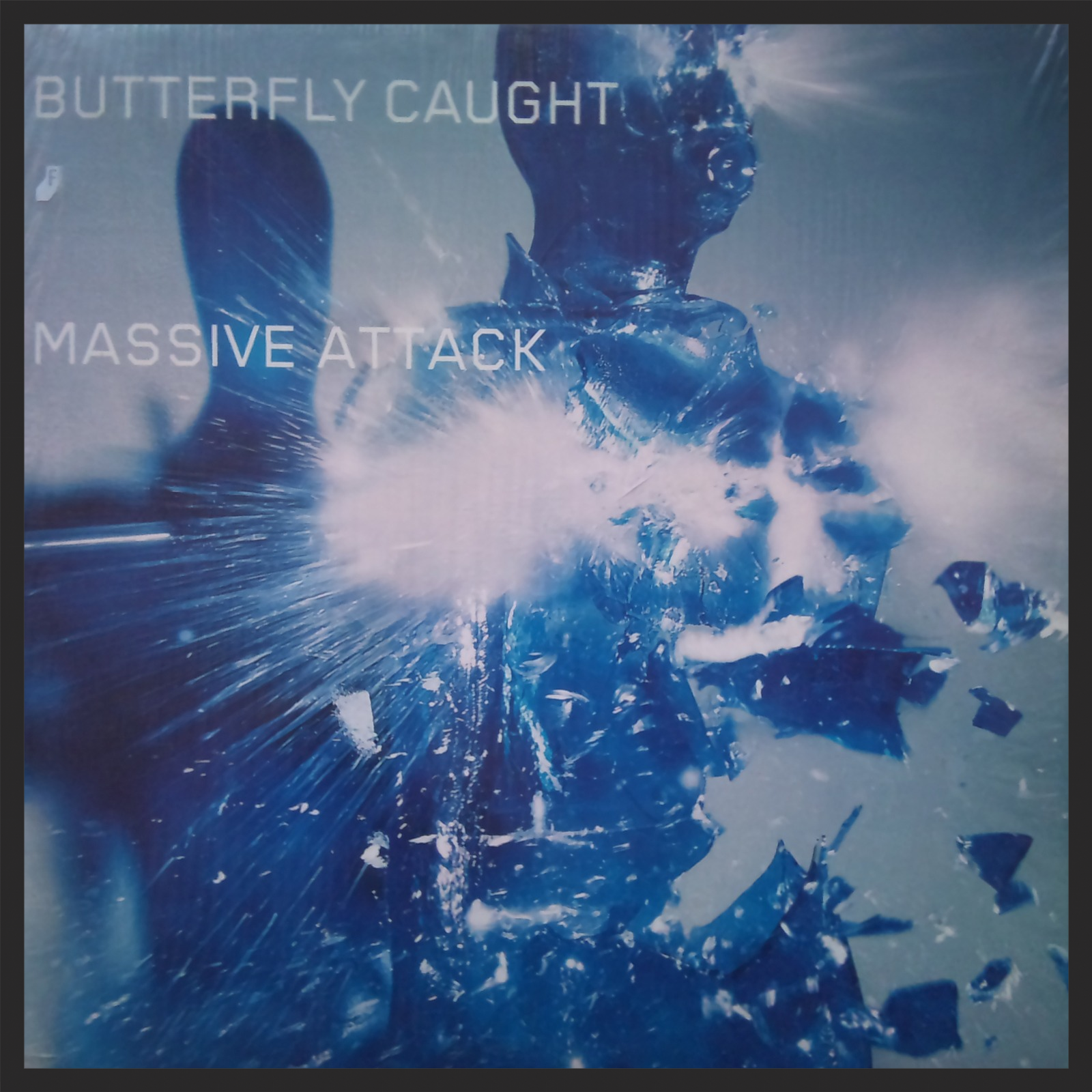 The Front Cover Of The Butterfly Caught Single Release.