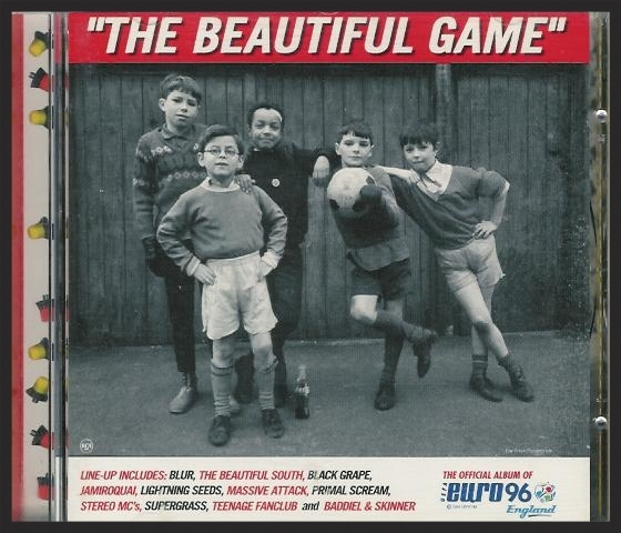 """Euro Zero Zero was first featured on the compilation album """"The Beautiful Game"""" in 1996, before being reused as a b-side 2 years later on the Teardrop single."""