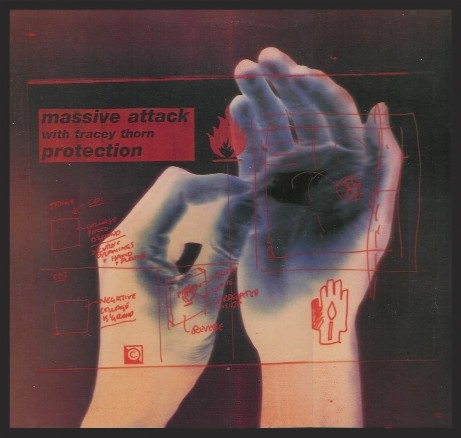 The Front Cover Of The Protection Single Release.