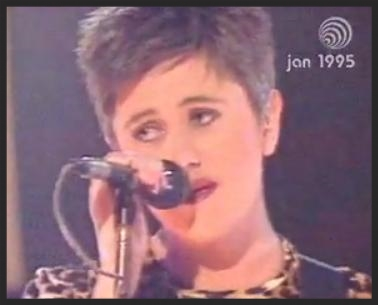 Tracey Thorn In A One-Off Performance Of Protection On BBC's Top Of The Pops Back In 1995.  Watch that video here on YouTube.