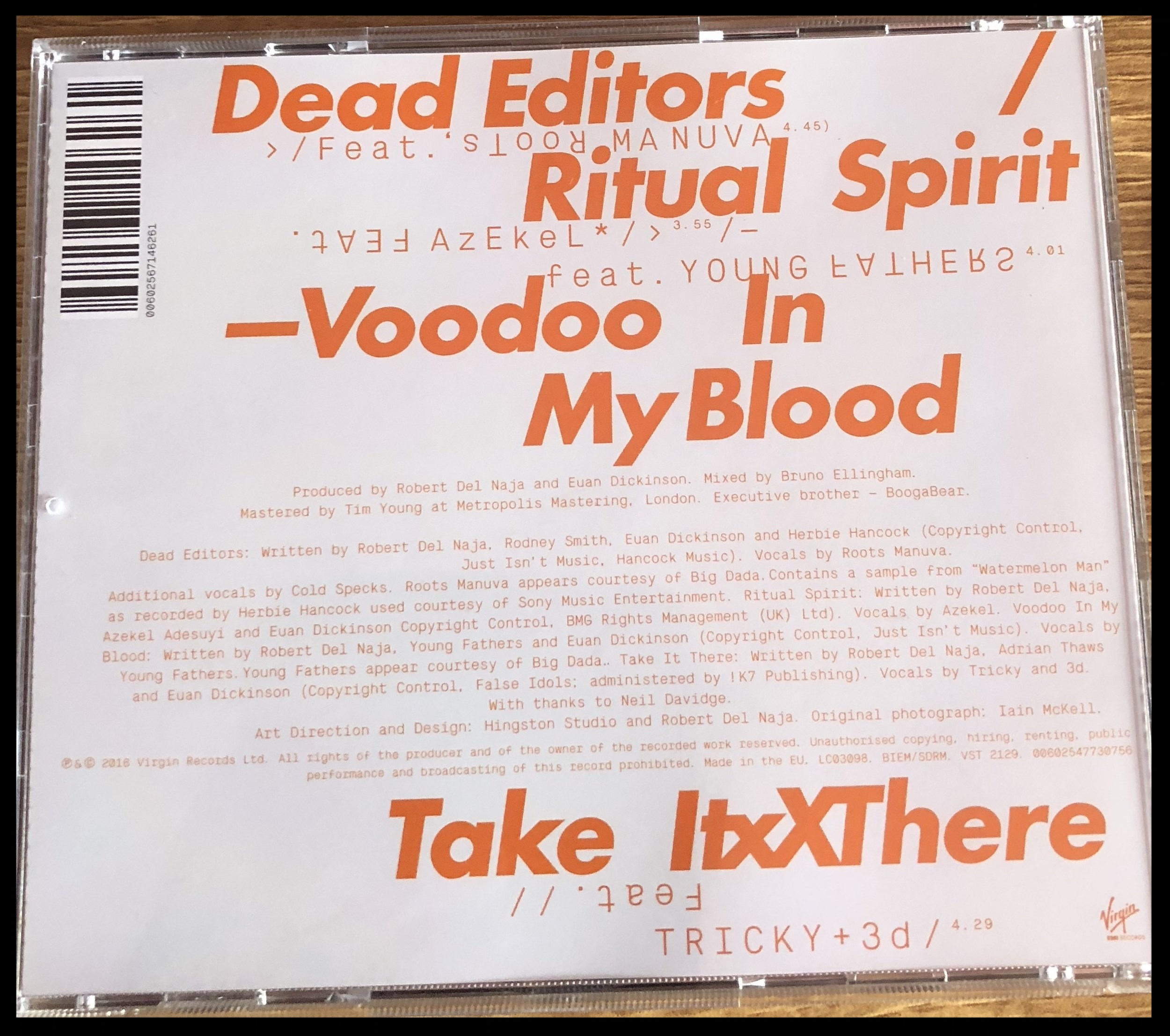 Discography→Ritual Spirit — MASSIVEATTACK IE