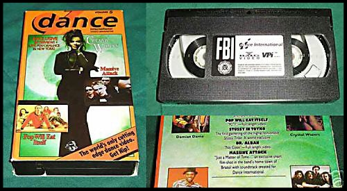 """Just A Matter Of Time was only ever released as the soundtrack to a short film that appeared exclusively on this """"Dance International"""" VHS tape in late 1991."""