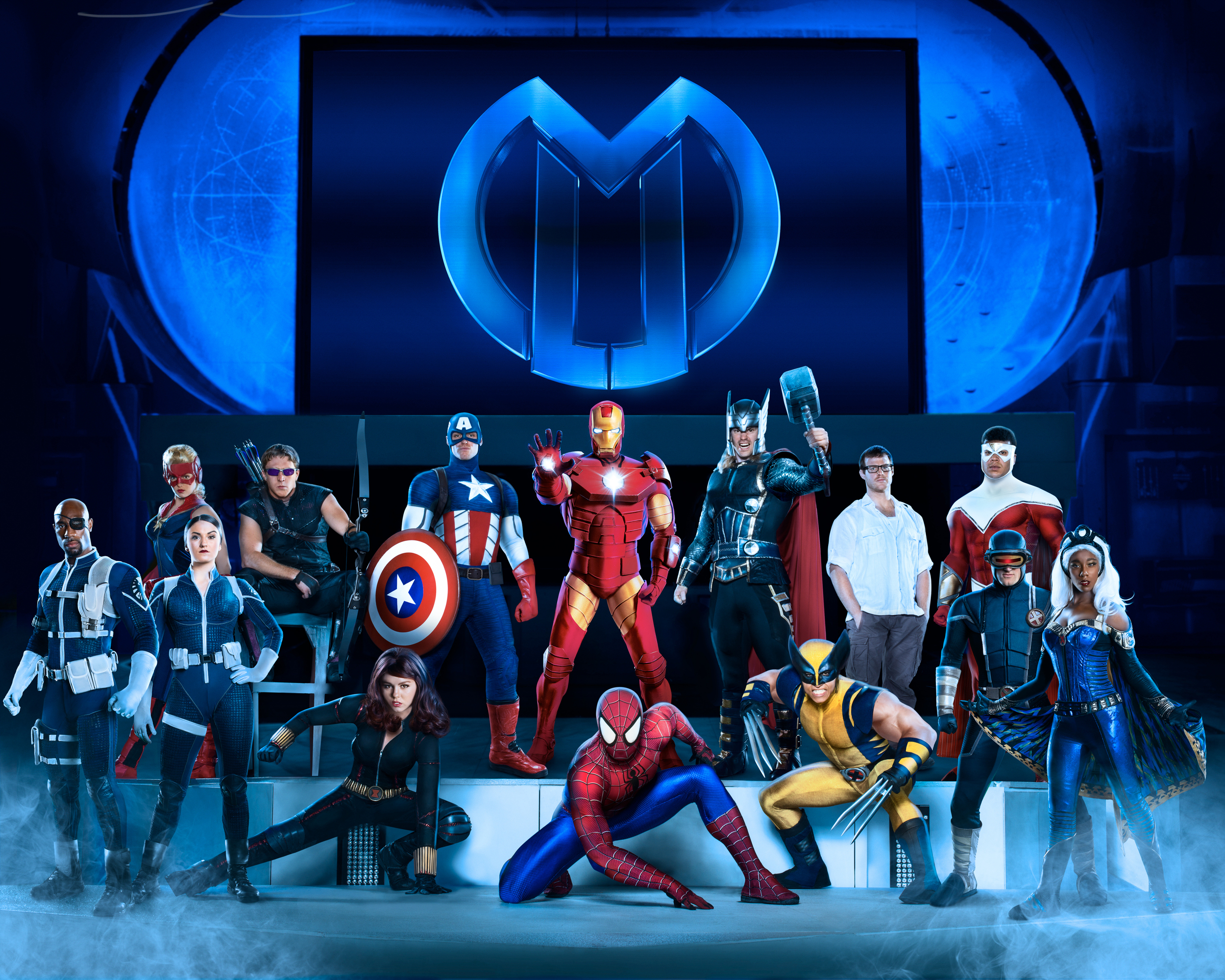 """Marvel Universe Live"" will stop Oct. 15-18 at the PPL Center in Allentown.  (Courtesy Photo)"