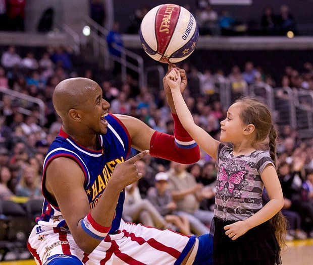 Basketball superstars the Harlem Globetrotters will return March 2 to the PPL Center in Allentown.  (Courtesy Photo)