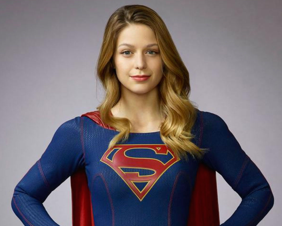 "Actress Melissa Benoist, as Supergirl, is shown in a publicity still for CBS' ""Supergirl""   television series, which premiered Oct. 26.  (Warner Bros./CBS Photo)"