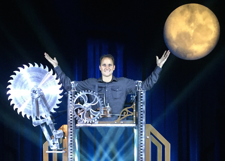 Magician-illusionist David Caserta, of Moore Township, will perform Oct. 31 at the State Theatre in Easton.  (Courtesy Photo)