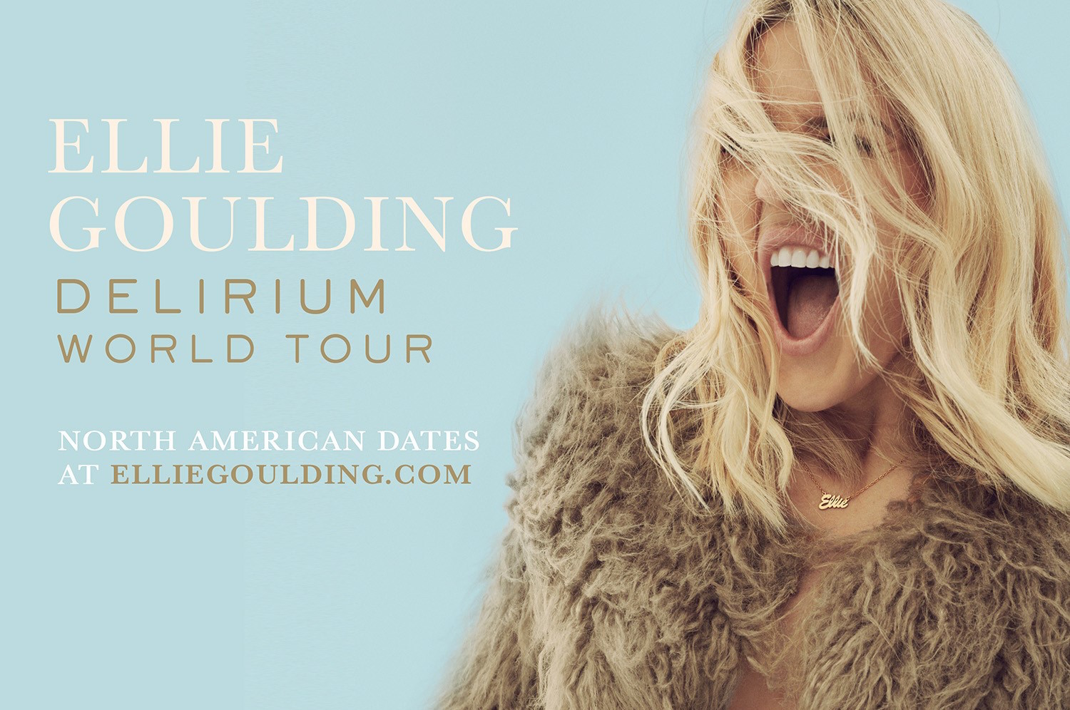English pop singer Ellie Goulding will perform May 11 at the Sands Bethlehem Event Center in Bethlehem.  (Courtesy Image)