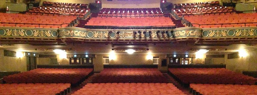 The State Theatre in Easton is turning to community members in repairing areas damaged by water.  (Dustin Schoof Photo)