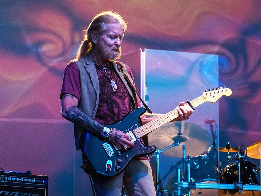 Guitarist-keyboardist Gregg Allman, pictured, will perform April 2 at the Sands Bethlehem Event Center.  (James Pappaconstantine Photo)