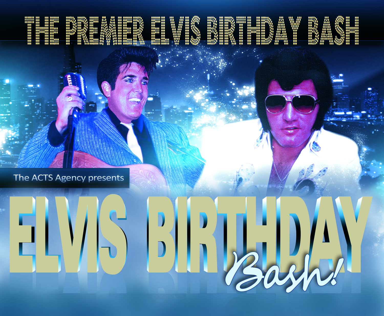 """The annual """"Elvis Birthday Bash"""" at the State Theatre in Easton has been rescheduled for April 23.  (Courtesy Image)"""