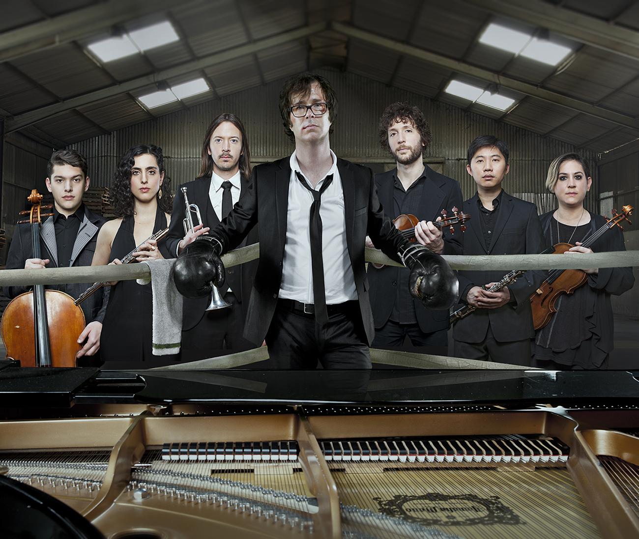 Singer-pianist Ben Folds will perform July 14 on the Levitt Pavilion stage at SteelStacks in Bethlehem.  (Courtesy Photo)