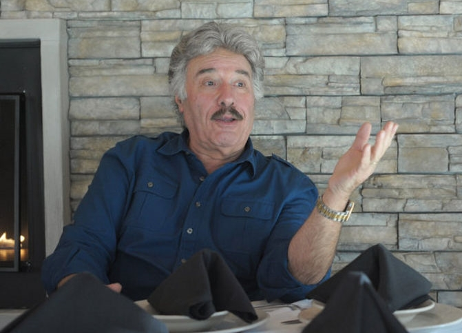 "Singer Tony Orlando, seen here in 2014 being interviewed at Billy's Downtown Diner in Allentown, will return in November to the Sands Bethlehem Event Center for his ""Great American Christmas"" show.  (LehighValleyLive.com Photo 