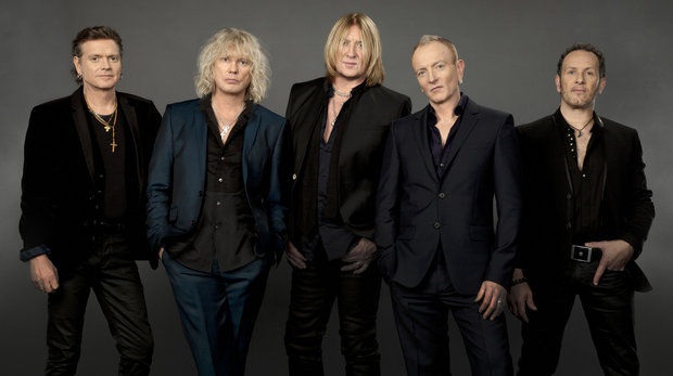 Def Leppard will now perform May 17 at the PPL Center in Allentown.  (Courtesy Photo)