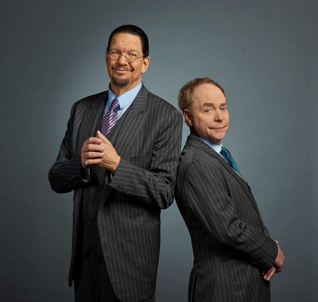 Magician duo Penn & Teller will return Oct. 28 to the State Theatre in Easton.  (Courtesy Photo )