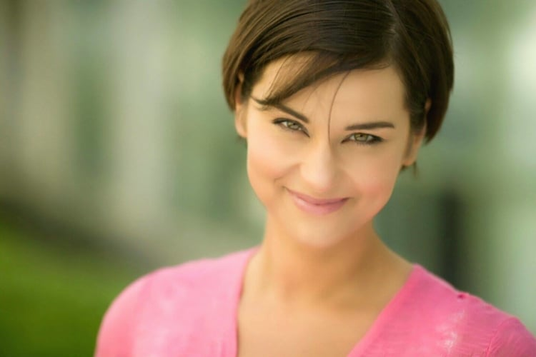 Comedian Liz Russo will host the fifth annual free outdoor comedy show at Riverside Park in Easton.  (Courtesy Photo)