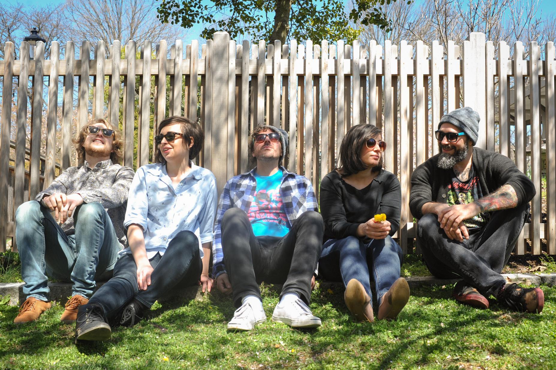 Bethlehem-based indie rock band VoirVoir will perform June 10 at Musikfest Cafe in Bethlehem.  (Courtesy Photo)