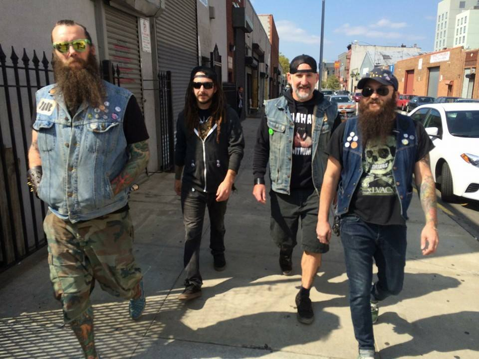 Bethlehem-based stoner-metal band Goat Wizard, pictured, will perform July 21 at The Alternative Gallery in Allentown.  (Facebook Photo)