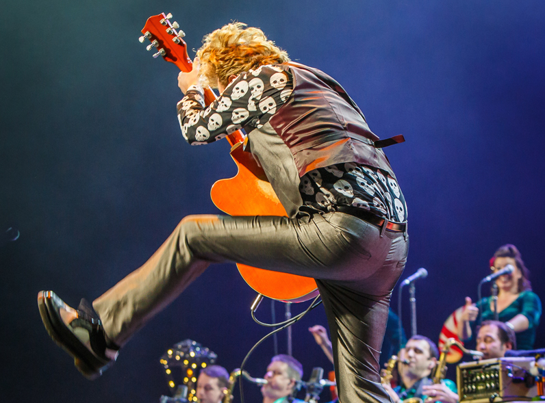 Guitarist-vocalist Brian Setzer and his orchestra will return Nov. 20 to the State Theatre in Easton.  (Courtesy Photo)