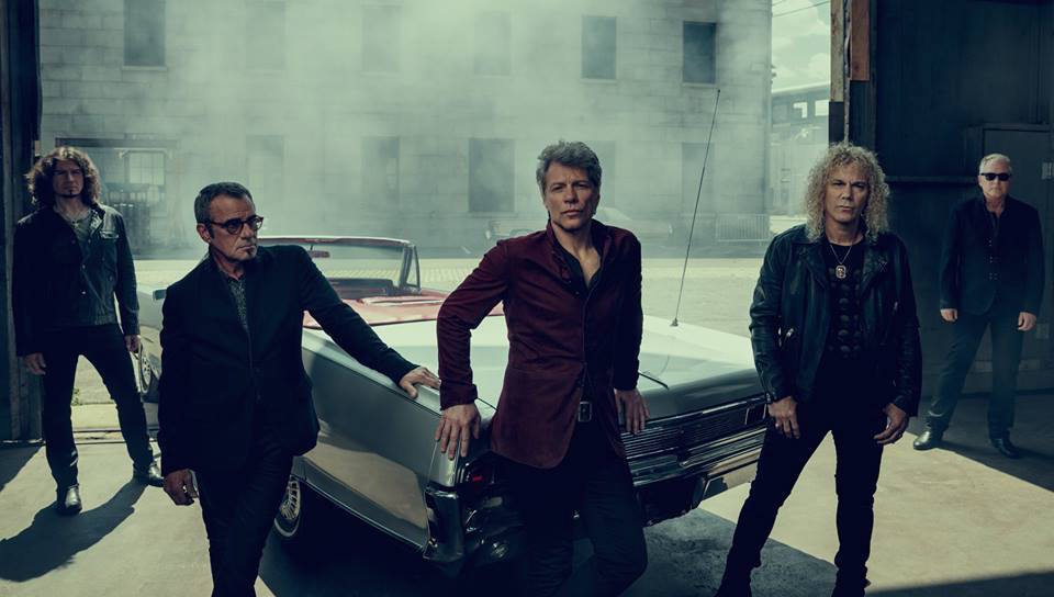 "Bon Jovi earlier this summer filmed their latest music video, ""This House is Not for Sale,"" in SouthSide Bethlehem.  (Island Records Photo)"