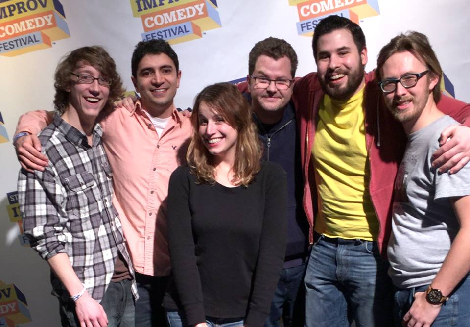 """Improv comedy troupe Cranks & Pulleys takes over for The Flighty Ducks as host of the monthly """"Improv Jam"""" at Godfrey Daniels in Bethlehem.  (Lisa Kaplan Photo)"""