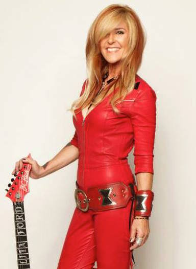 Lita Ford.  (Gene Kirkland Photo)