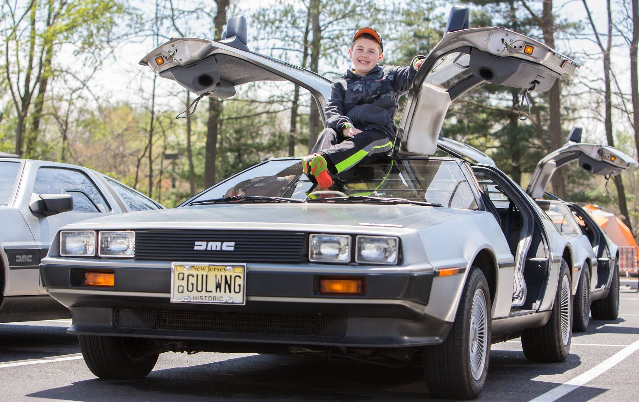 "Fifteen DeLorean DMC-12 vehicles will be on display as part of ArtsQuest's ""Coffee & Cars"" series at SteelStacks.  (Courtesy Photo)"