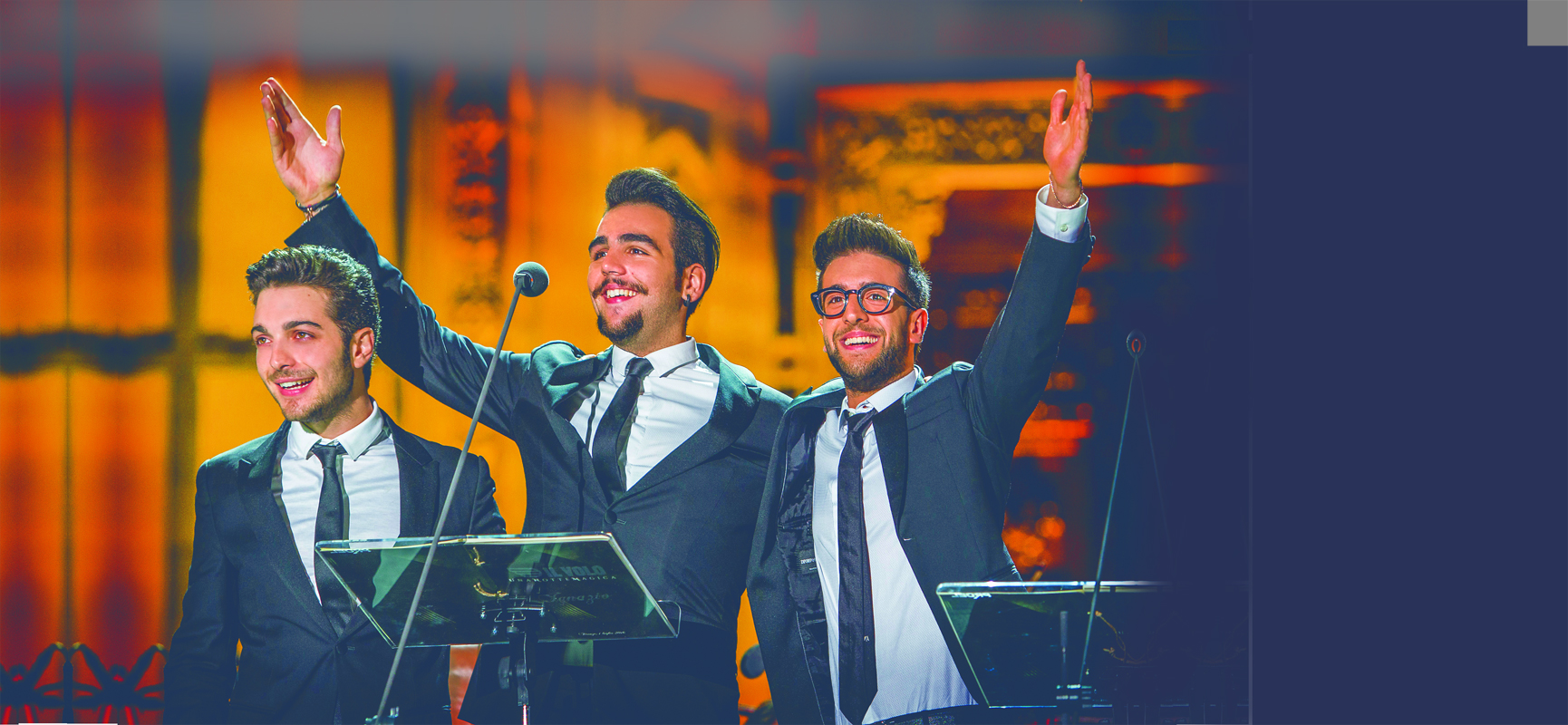 Italian pop vocal trio Il Volo will perform March 2 at the State Theatre in Easton.  (Courtesy Photo)