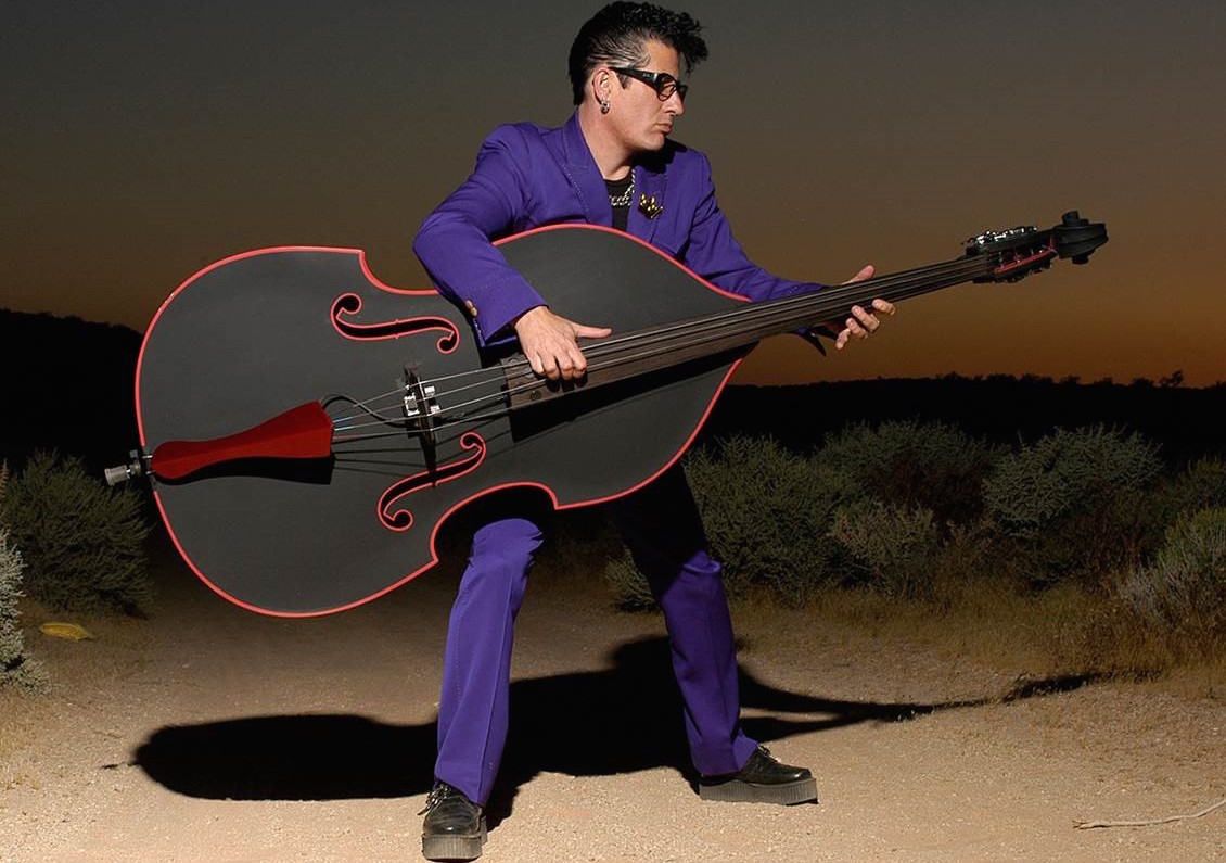 Stray Cats bassist Lee Rocker will perform Friday at the State Theatre in Easton.  (Courtesy Photo)