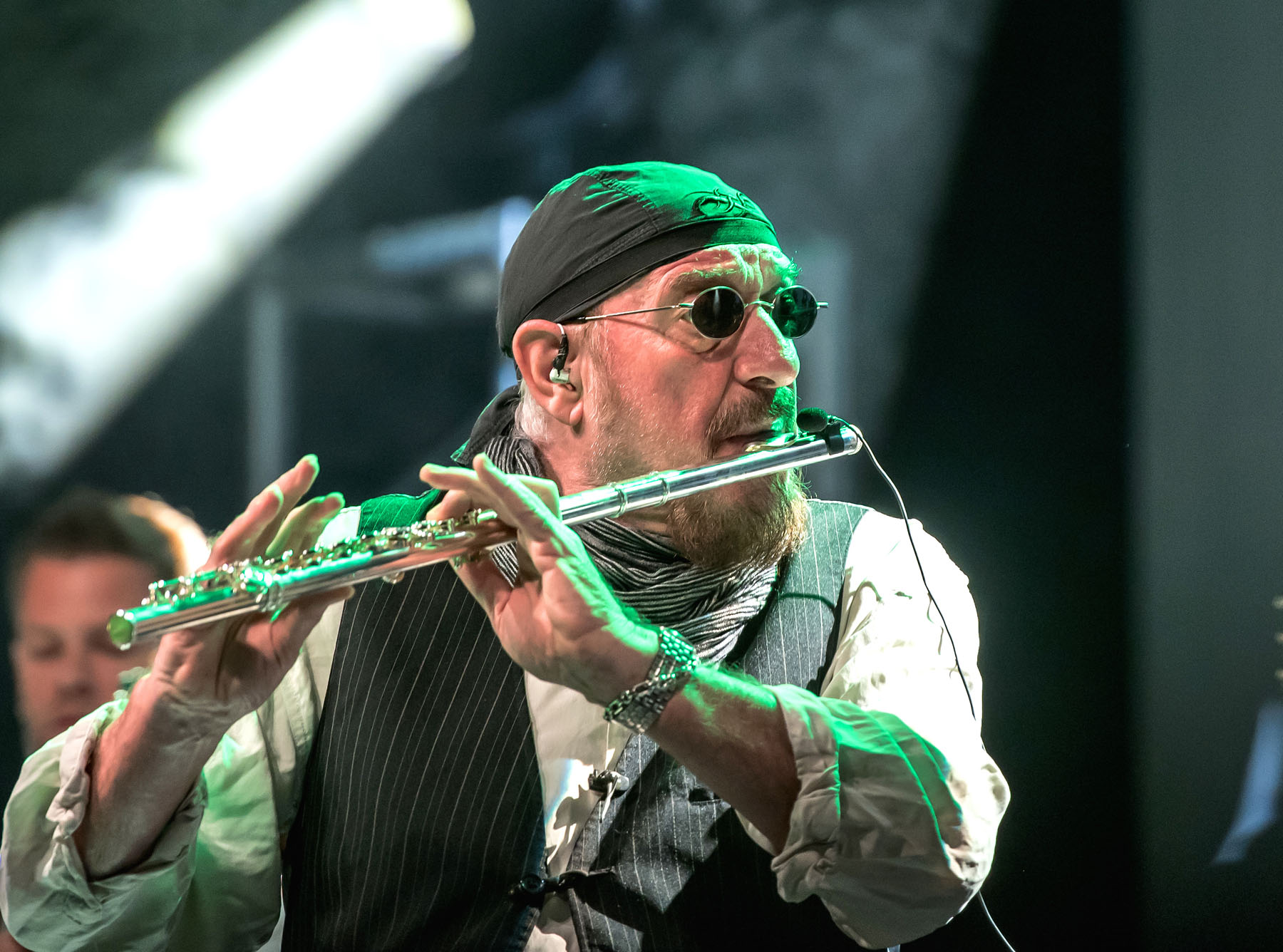 Jethro Tull singer and flautist Ian Anderson will perform Aug. 13 at Musikfest in Bethlehem.  (Courtesy Photo)