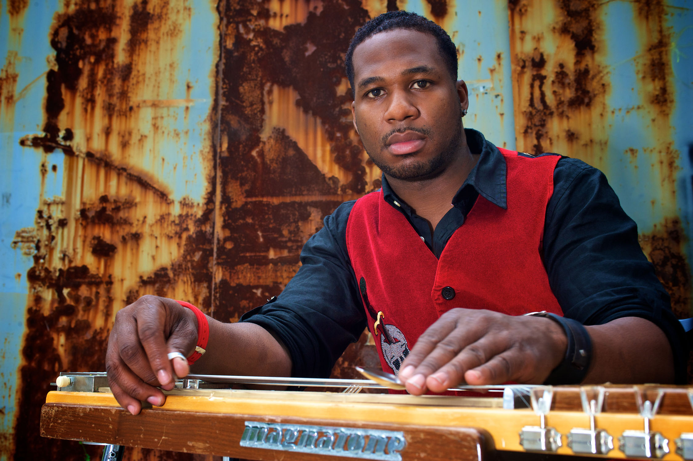 Slide guitarist Robert Randolph, pictured, and The Family Band will perform April 28 at Musikfest Cafe in Bethlehem.  (Courtesy Photo)