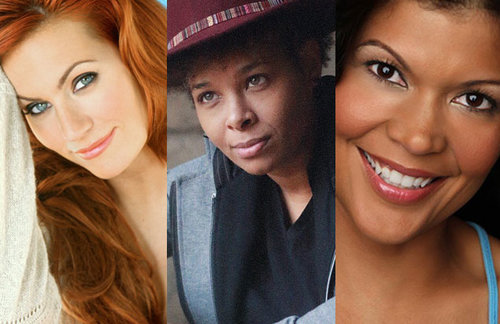 The Every Woman Comedy Tour will feature comedians April Macie, left, Chaunte Wayans, and Aida Rodriguez, right. (Courtesy Image)