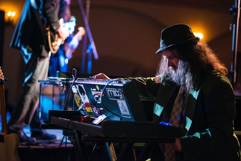 "Keyboardist Jason E. Hedrington performs with Roi and the Secret People during the 2016 ""Easton Rocks"" concert at the State Theatre in Easton.  (Adam Atkinson Photo)"