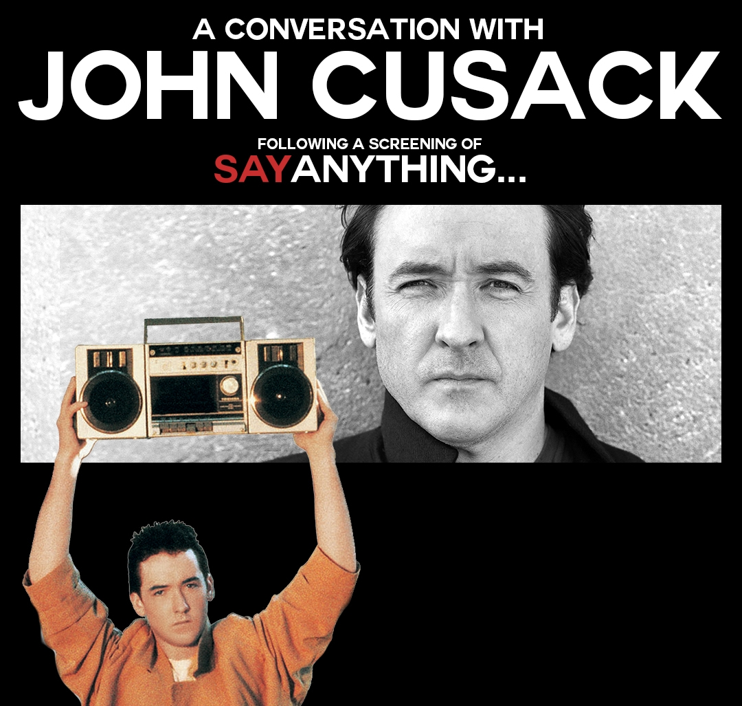 Actor John Cusack will appear Sept. 20 at the State Theatre in Easton.  (Courtesy Image / 20th Century Fox)