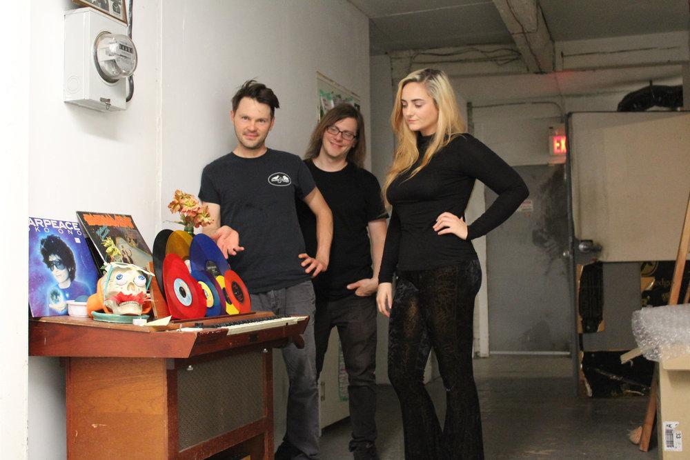 Bethlehem-based rock trio Ruby Dear impresses on their self-titled debut album. (Courtesy Photo)